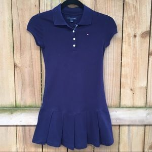 Tommy Hilfiger Little Girls Polo Pleated Dress NWT